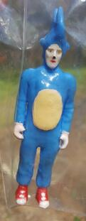 SANIC: Hand Cast Resin Toy